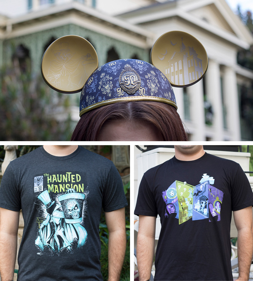 Haunted Mansion 50th Anniversary Merchandise