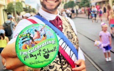 """I'm Celebrating 1st Day of School"" Florida Mom Visits Magic Kingdom Without the Kids"