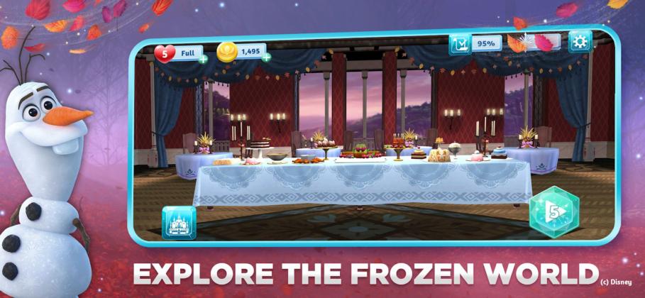 Jam City Teams With Disney For Quot Frozen Adventures Quot Mobile
