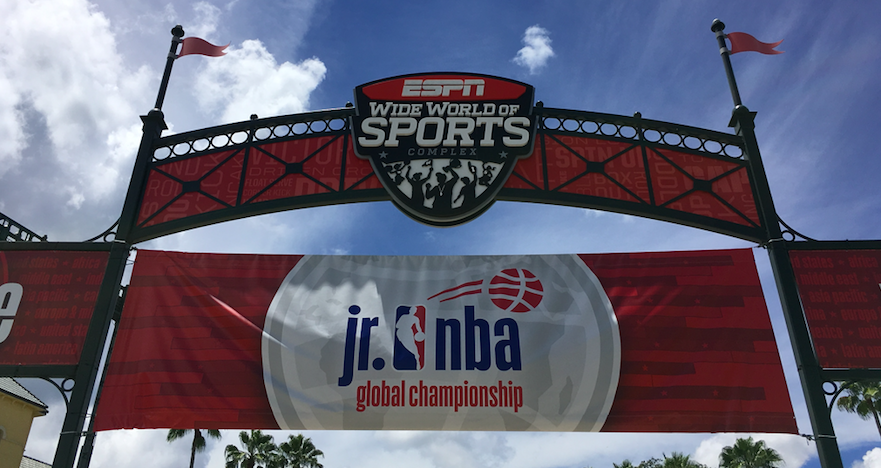 Jr  NBA Global Championship Comes to ESPN Wide World of Sports