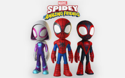 "New Animated Spider-Man Series ""Spidey and His Amazing Friends"" Coming to Disney Junior"