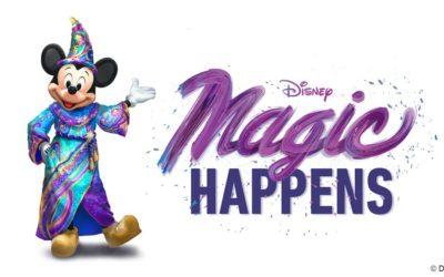 "New Daytime Parade ""Magic Happens"" Coming to Disneyland Spring 2020"