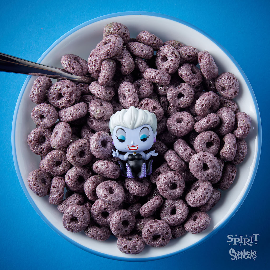 Oogie Boogie Ursula Funko S Cereal Coming To Spencer S