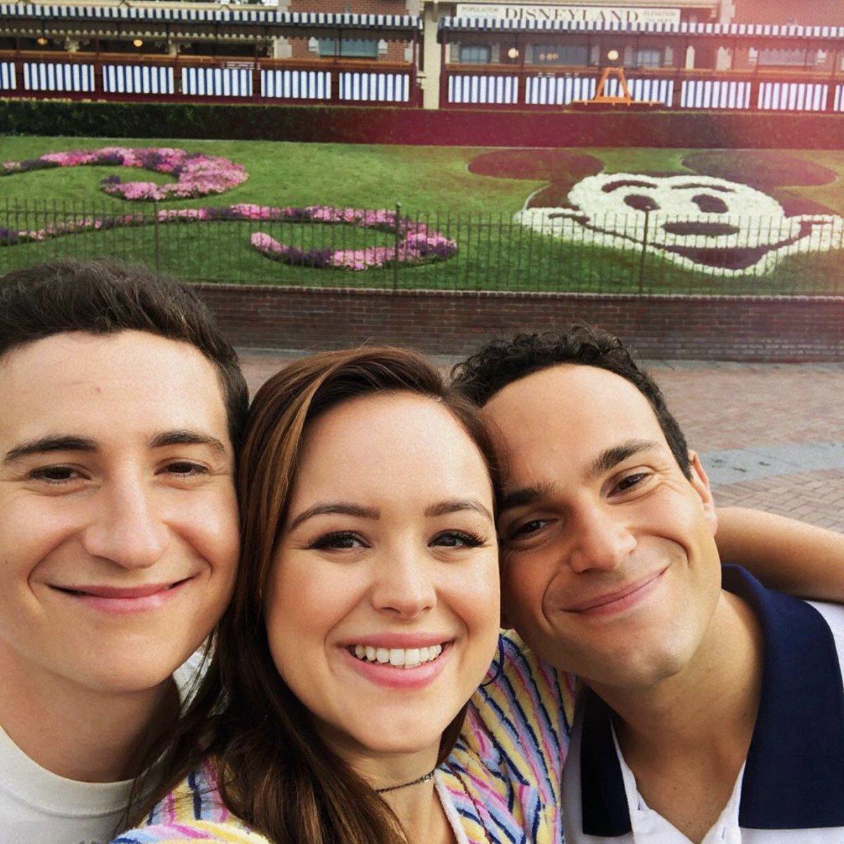 Sam Lerner, Hayley Orrantia, and Troy Gentile | Via ABC