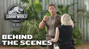 Video – Behind the Scenes of Jurassic World: The Ride