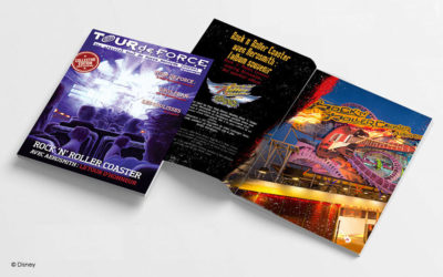 Walt Disney Studios Park to Distribute Souvenir Tour de Force Magazines For Rock 'n' Roller Coaster's Last Ride