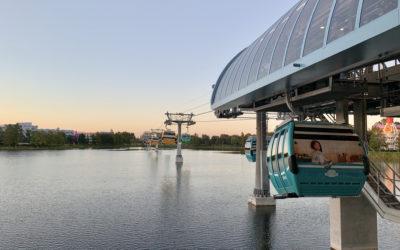 First Ride: New Transportation Option the Disney Skyliner