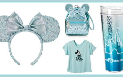 Arendelle Aqua Joins Happiest Colors on Earth Collection on shopDisney