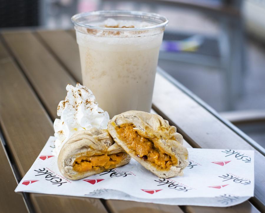 Kabocha Pumpkin Bun from YeSake for WonderFall Flavors at Disney Springs 2019