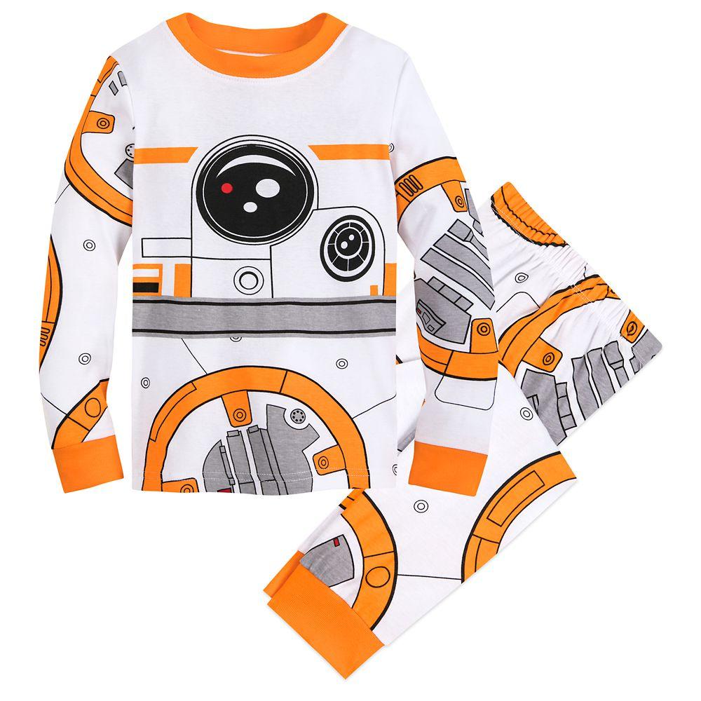 boys pjs character childrens nightwear 4-10 yrs BOYS STAR WARS BB8 pyjamas