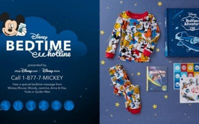 Disney Bedtime Hotline Returns for Limited Time, shopDisney Launches Disney Bedtime Adventure Box