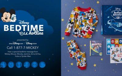 Disney Bedtime Hotline Returns for Limited Time, shopDisney Launches Disney Bedtime Adventure Box