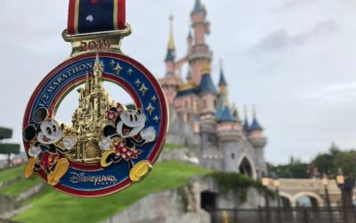 Disneyland Paris Run Weekend Recap (Part 3): A Half Marathon to Amour