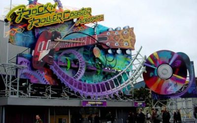 Fans Say Goodbye to Rock 'n' Roller Coaster avec Aerosmith at Walt Disney Studios Paris