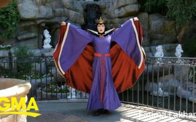 """""""GMA,"""" Shares YouTube Video of Disneyland's Evil Queen"""
