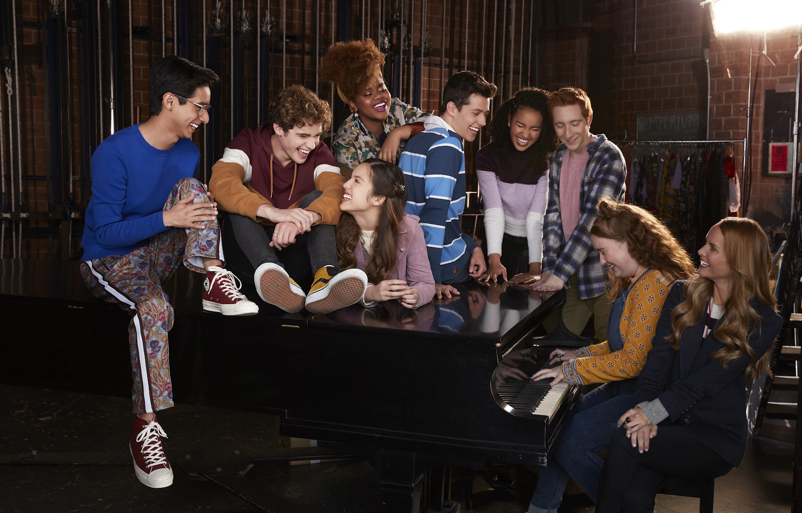 High School Musical The Musical The Series First Impressions From D23 Expo Laughingplace Com