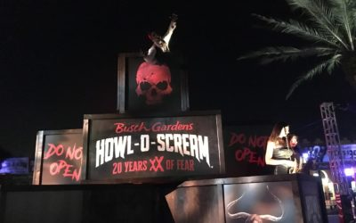 Howl-O-Scream Kicks Off at Busch Gardens Tampa Bay