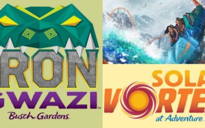 Ice Breaker, Iron Gwazi, Solar Vortex Coming to SeaWorld Orlando, Busch Gardens Tampa Bay in 2020