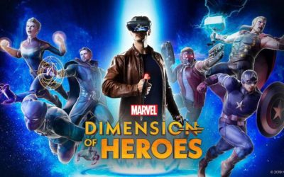 """""""Marvel Dimension of Heroes,"""" New Augmented Reality Experience to Launch Tomorrow"""