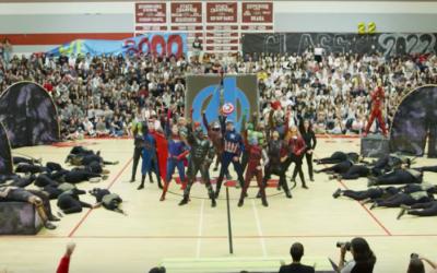 Marvelous Avengers-Inspired Homecoming Assembly Dance Goes Viral