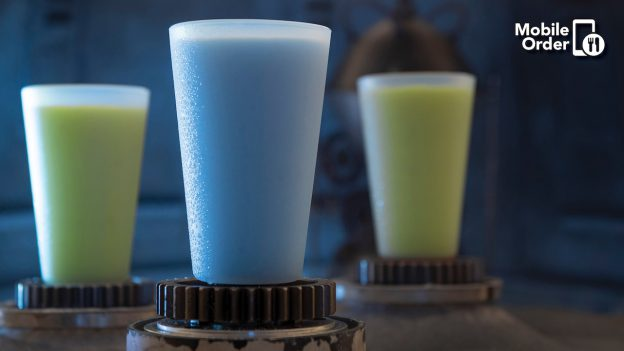 Blue and Green Milk available for Mobile Order at Walt Disney World Resort