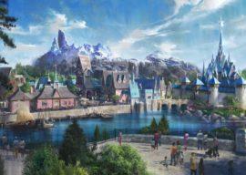 New Look at Frozen Land, More Frozen Offerings Coming to Disneyland Paris