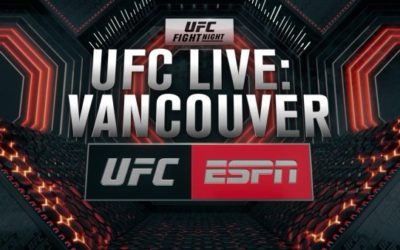 "New Weekly Show ""UFC Live"" Debuts on ESPN2 on September 13"