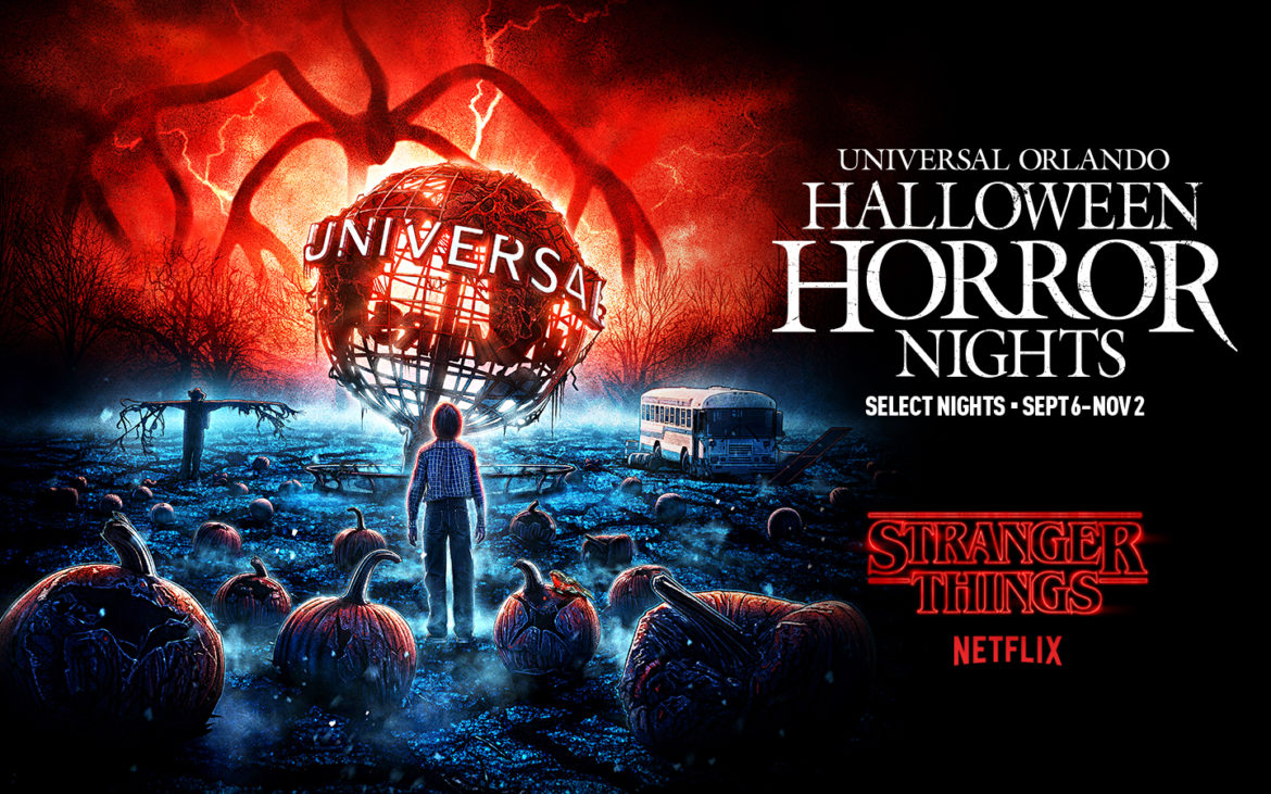 Netflix's Stranger Things Returns to Halloween Horror Nights in All-New Haunted House Experience