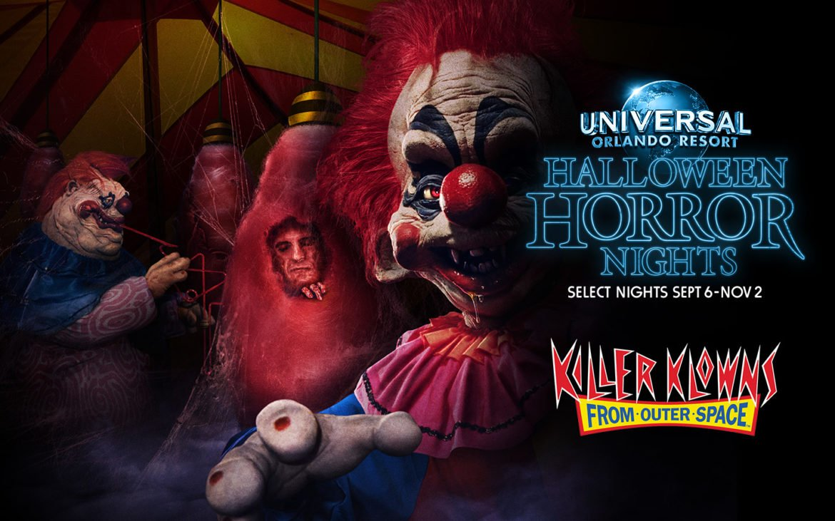 MGM Pictures' Killer Klowns From Outer Space Has Landed at Halloween Horror Nights