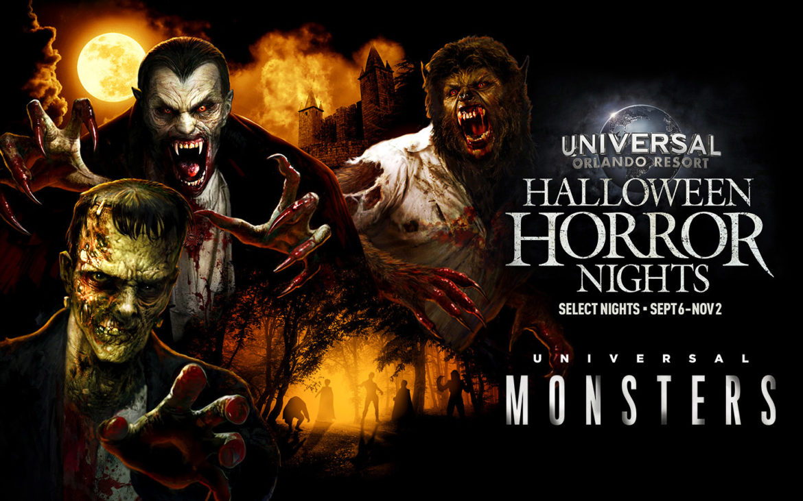 Face the Biggest Names in Horror, Universal Monsters, at Halloween Horror Nights