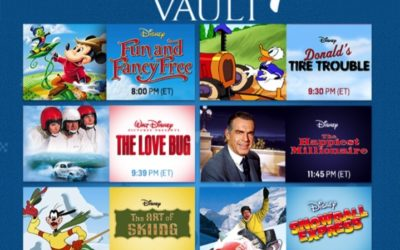 TCM Treasures from the Disney Vault - September 2019