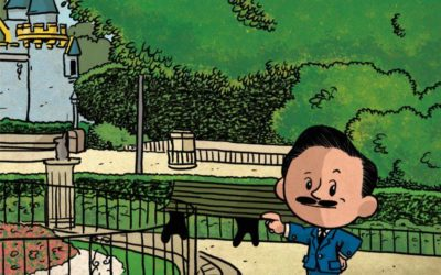 "Thriller Author Pens Walt Disney Kids Book: A Chat with Brad Meltzer About ""I Am Walt Disney"""