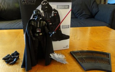 """Toy Review: """"HyperReal"""" Darth Vader from Hasbro's Star Wars: The Black Series"""