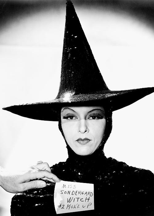 """MGM's """"Evil Queen"""" Wicked Witch wardrobe test."""