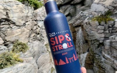 Event Recap: D23 Sip & Stroll at Epcot International Food & Wine Festival