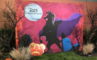 D23 Celebrates a Mostly Ghostly Halloween on the Walt Disney Studios Lot