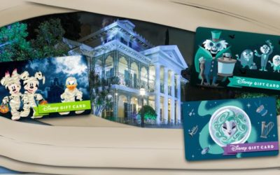 Disney Introduces Spooky New Gift Card Designs Just in Time for Halloween
