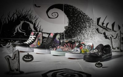 "Disney x Vans ""The Nightmare Before Christmas"" Collection Now Online"