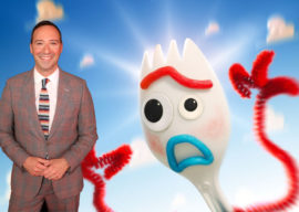 """Interview: """"Forky Asks a Question"""" Star Tony Hale Discusses His Role in the New Disney+ Series"""