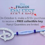 Frozen Key Giveaway Part of Disney Store's Weekend Promotions