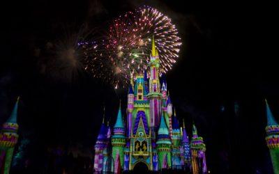 Get a Sneak Peek at Minnie's Wonderful Christmastime Fireworks