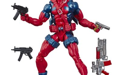 Hasbro's Marvel 80th Deadpool Figure to Debut at UK and EU Fan Conventions