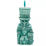 Haunted Mansion Hatbox Ghost Trader Sam's Enchanted Tiki Bar Ornaments Now Available on shopDisney