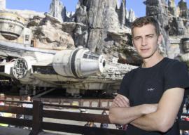 Hayden Christensen Visits Disneyland's Star Wars: Galaxy's Edge