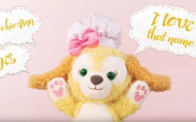 Hong Kong Disneyland Duffy Friend Cookie to be Renamed CookieAnn