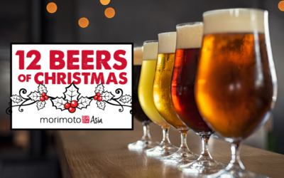 "Iron Chef Masaharu Morimoto Presents Second Annual ""12 Beers of Christmas"" at Morimoto Asia"
