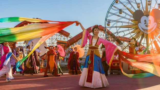 Mulan's Lunar New Year Procession