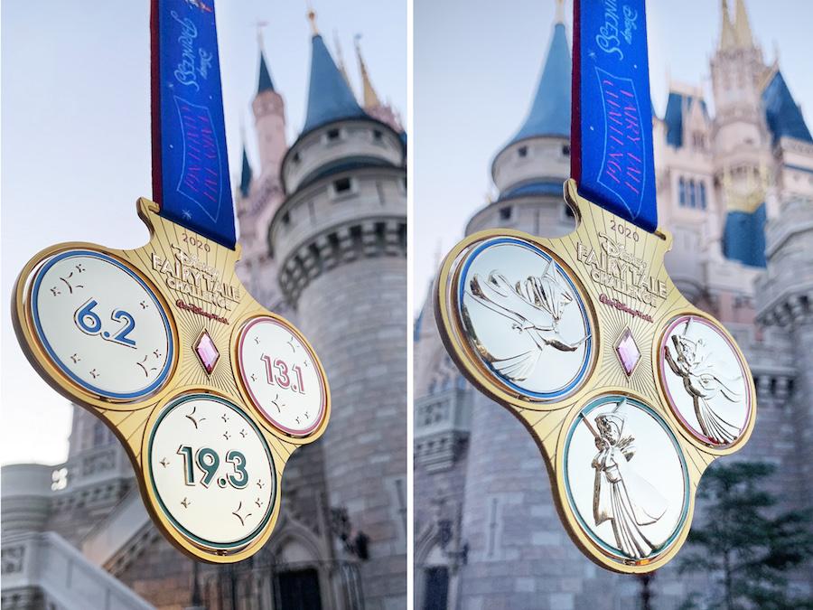 2020 Disney Fairy Tale Challenge medals
