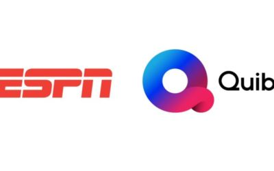 ESPN Announces Agreement with New Mobile-First Platform Quibi