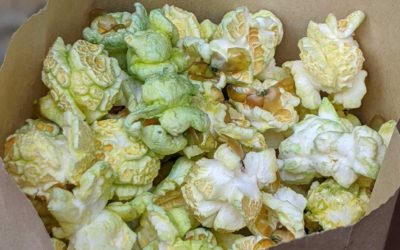 Off-Menu Green Popcorn Offered at Kat Saka's Kettle At Disney's Hollywood Studios